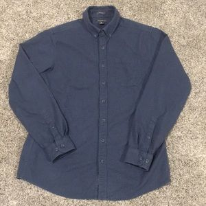 Eddie Bauer Tall Long Sleeve Heavy Weight Shirt